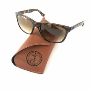 Rayban Sunglasses Brown with Case RB4181